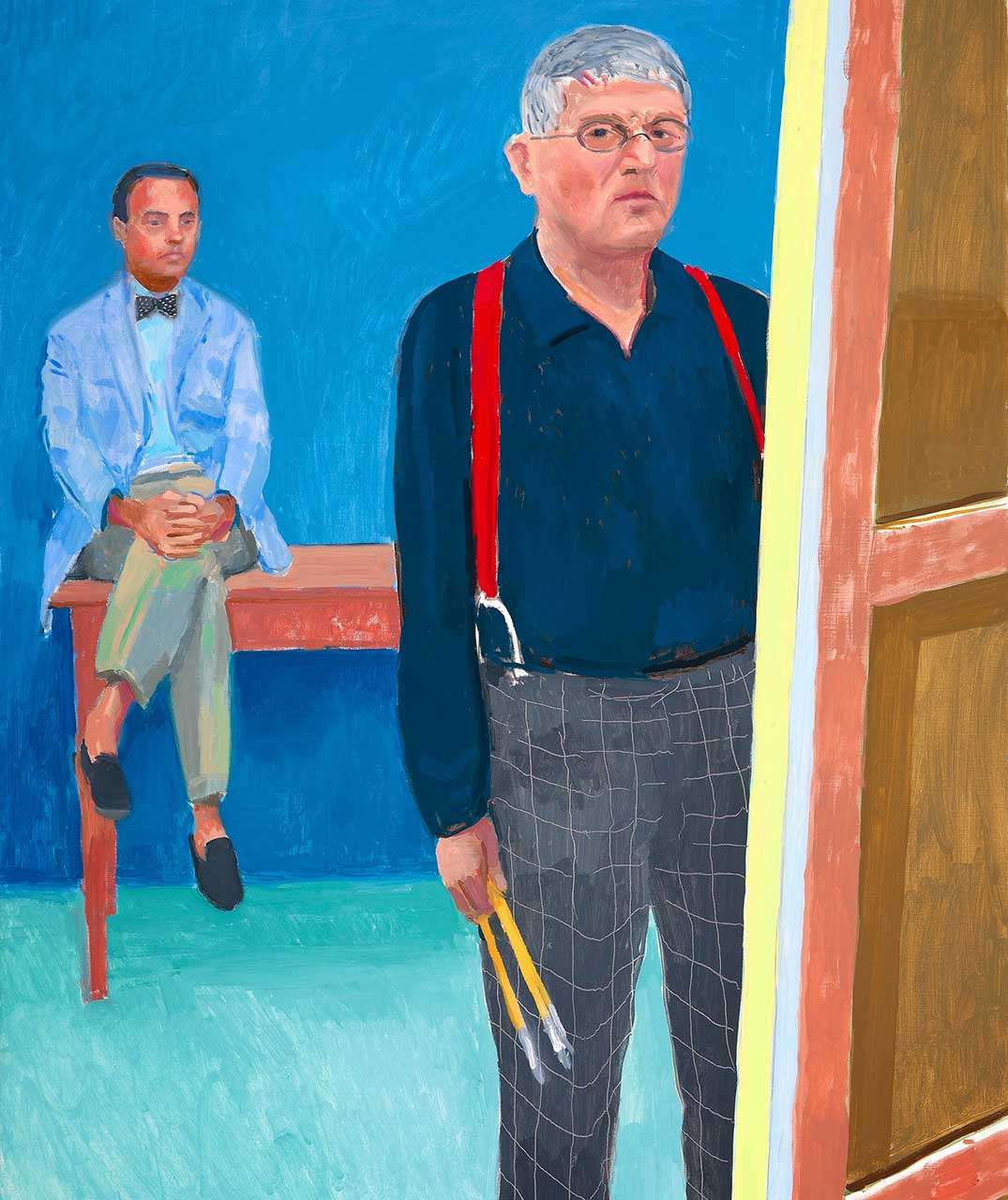 Watch besides Watch as well Blue Sky Painting together with Unit 4  munication Through Art Design in addition Photographic Collages. on david hockney