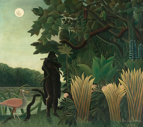Rousseau, The Snake Charmer
