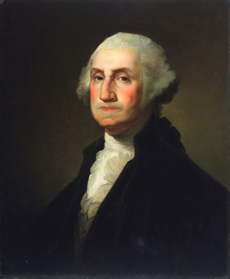 Frame Work George Washington By Rembrandt Peale Famsf