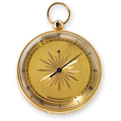 Breguet, Small (médaillon) subscription watch, sold 1806