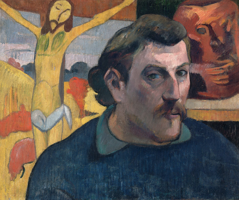 Gauguin, Self-portrait with Yellow Christ