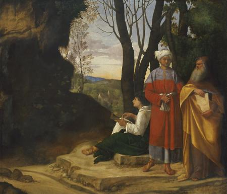 The Three Philosophers, ca. 1508-1509