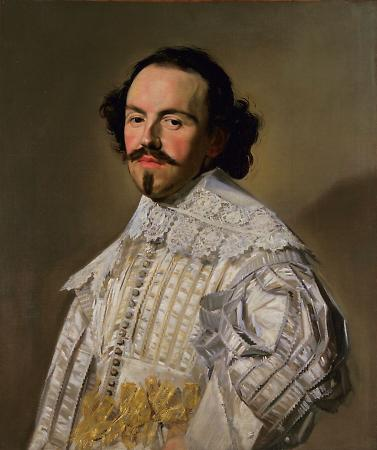 Frans Hals Gentleman in White