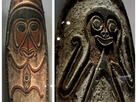 Spirit Boards from Papua New Guinea