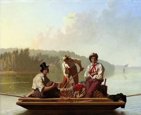 George Caleb Bingham: Boatmen on the Missouri