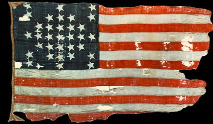 The Fort Sumter flag