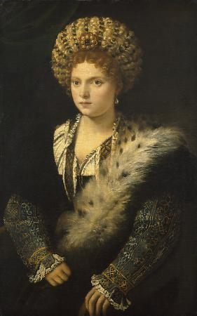 Portrait of Isabella d'Este, Marchioness of Mantua, ca. 1534-1536