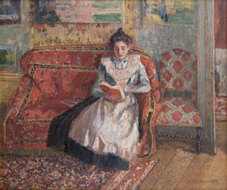 Jeanne Pissarro, Called Cocotte, Reading, 1899