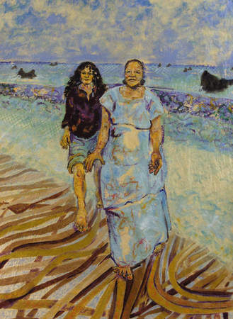 Walking with my Grandmother by Jewel Castro