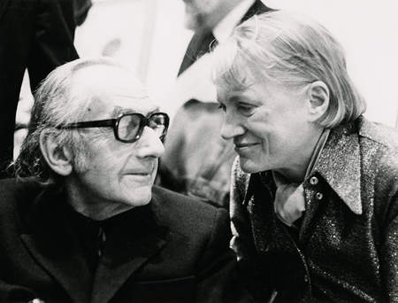 Old Man Ray and Lee Miller