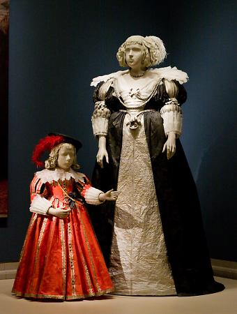 Marie Claire de Croy and Child