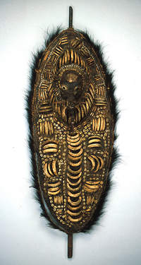 Reliquary plaque, 19th-early 20th century. New Guinea