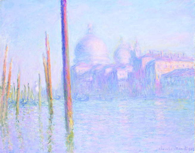 FRAME|WORK: The Grand Canal, Venice by Claude Monet | FAMSF