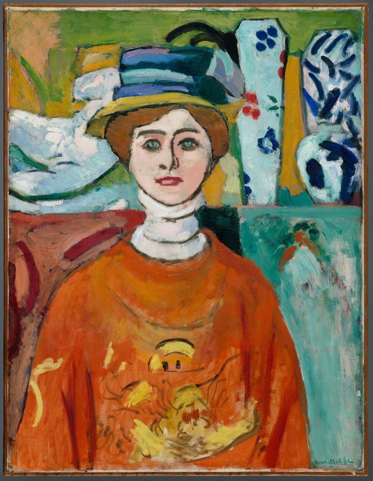 Henri Matisse The Girl with Green Eyes