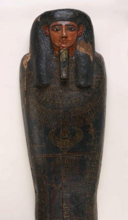 Mummy of Irethorrou in Coffin