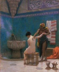 "Jean-Léon Gérome, ""The Bath,"" ca. 1880-1885"