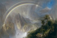 "Frederic Edwin Church, ""Rainy Season in the Tropics,"" 1866"