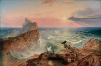 "John Martin, ""The Assuaging of the Waters,"" 1840"