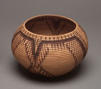 Degikup basket, early 20th century, Attributed to Tootsie Dick Sam (1885-1929)