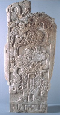 Stela with Queen Ix Mutal Ahaw, 761 AD
