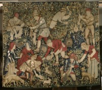 Rabbit-Hunting tapestry