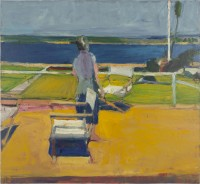 Richard Diebenkorn Figure on Porch, 1959