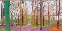 David Hockney, Woldgate Woods, 30 March–21 April, 2006