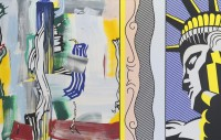 Roy Lichtenstein painting