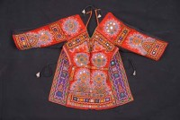 Rabari embroidered blouse, Judy Frater