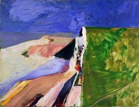 "Richard Diebenkorn, ""Seawall,"" 1957"