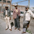 Janet Delaney photograph of neighbors at Folsom Street