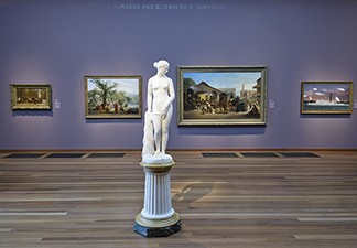 Hiram Powers Masterpiece Recently Acquired at the de Young