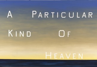 Ed Ruscha, A Particular Kind of Heaven, 1983. Oil on canvas. Fine Arts Museums of San Francisco, museum purchase, Mrs. Paul L. Wattis Fund, 2001.85