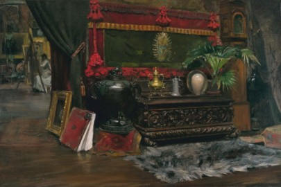 painting of studio