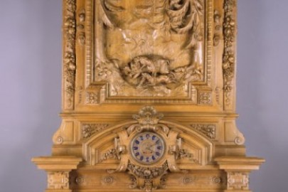 mantlepiece for Thurlow Lodge, Menlo Park, California, ca. 1872–1873