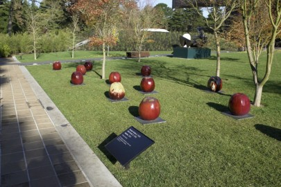 Gustav Kraitz and Ulla Kraitz, Apple, 2005