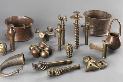 hoard of copper objects