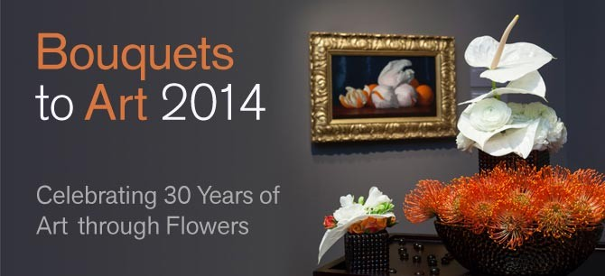 Bouquets to Art 2014 at the de Young