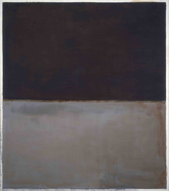 Mark Rothko, Untitled, 1969. Oil on canvas. National Gallery of Art, Washington, collection of Robert and Jane Meyerhoff. © 1998 Kate Rothko Prizel & Christopher Rothko / Artists Rights Society (ARS), New York