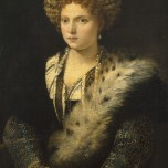 Portrait of Isabella d'Este, Marchioness of Mantua