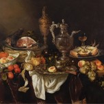 Abraham van Beyeren, Banquet Still Life, after 1665