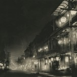 Willard E. Worden, <em>Midnight in Chinatown</em> 1903. Gelatin silver print R.D. Moore Collection