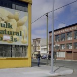 Janet Delaney, Bulk Natural Foods, Russ at Howard Street, 1980. Archival pigment print. Image courtesy of the artist. © 2014 Janet Delaney