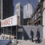 Janet Delaney, Second at Market Street, 1986. Archival pigment print. Image courtesy of the artist. © 2014 Janet Delaney