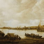 Jan van Goyen, View of the Rhine near Hochelten, 1653
