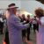 Cynthia Glinka leads swing dance lessons at the de Young.