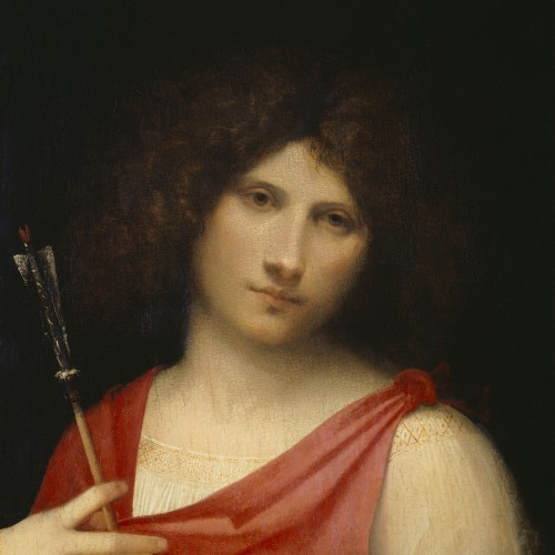 Youth with an arrow