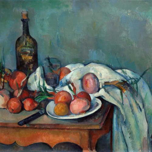 Paul Cézanne, Still Life with Onions