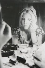 Michelle Putting on Make-up by Anthony Friedkin