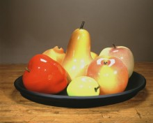 Flora Mace and Joey Kirkpatrick, Fruit Still Life, 1997